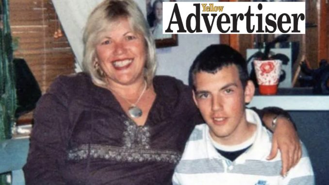 Melanie Leahy and son Matthew, who died at The Linden Centre in 2012