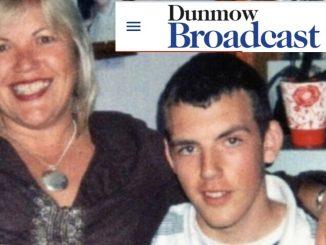 Melanie Leahy with late son Matthew Leahy